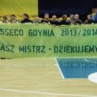 09.05.2014 - Asseco Gdynia - Stelmet Zielona Góra