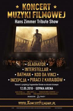KMF Hans Zimmer Gdynia arena 2018 - plakat