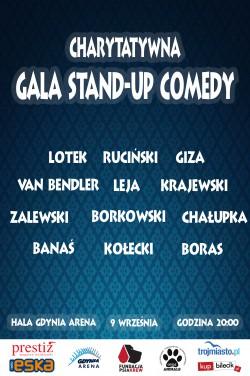 charytatywna gala stand-up comedy nowe